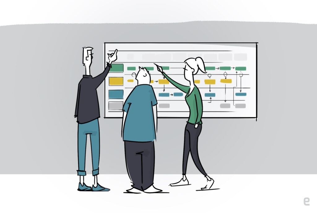 Wat is een service blueprint